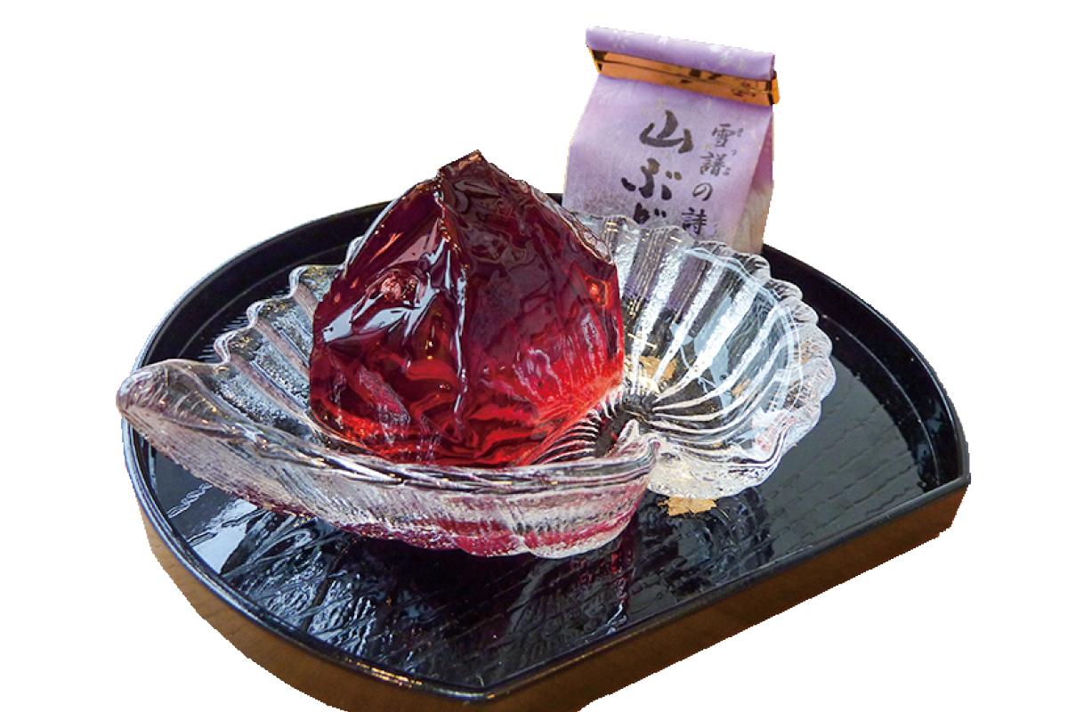 アオキ菓子店 雪譜の詩(山ぶどうゼリー)