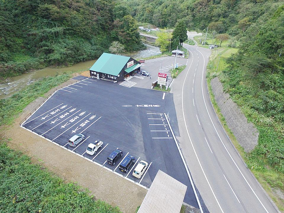 森の駅 大島青空市場 駐車場