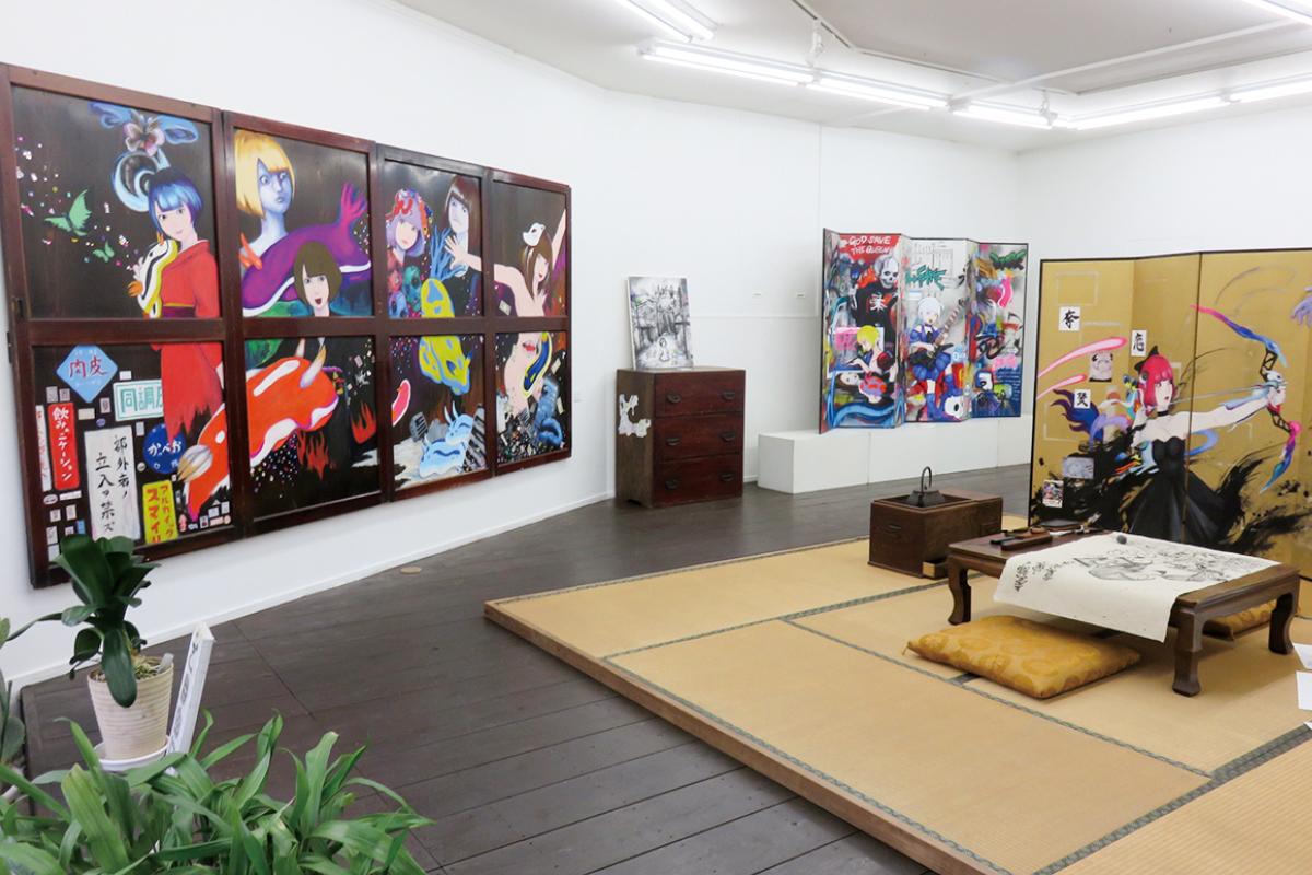 ギャラリー グルグルハウス高柳 1階ギャラリー