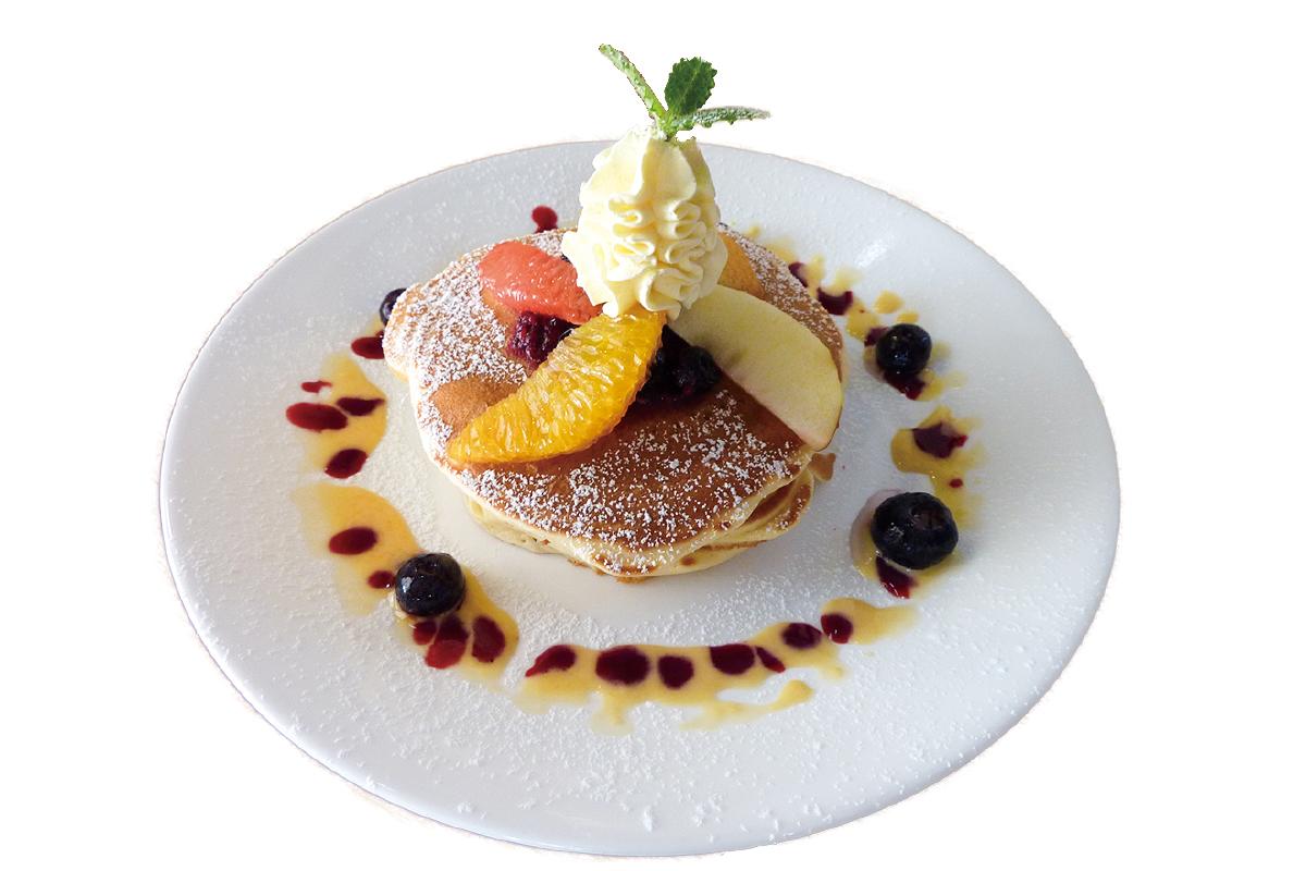 蔵 kura café フルーツパンケーキ
